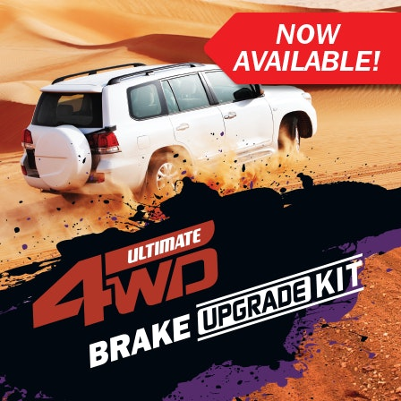 Ultimate 4WD Brake Upgrade Kit content image