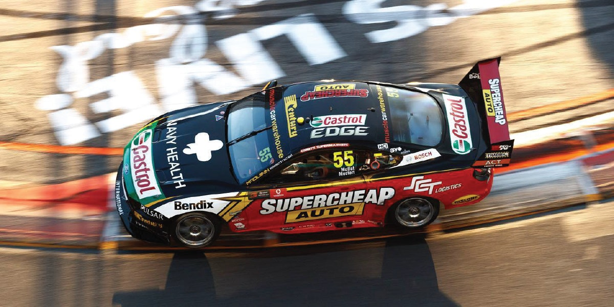 Lightning strikes twice for Mostert
