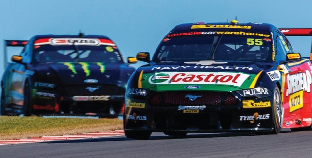 Tickford Racing Takes Charge at Tailem Bend