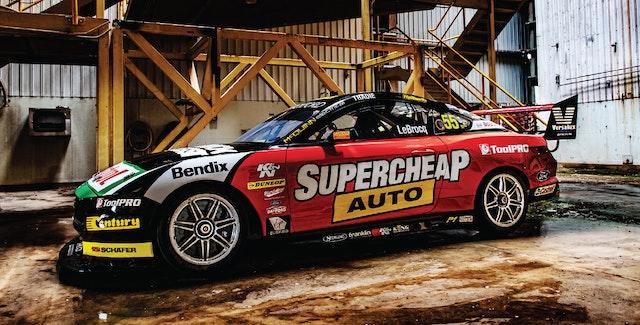 Bendix backs the No. 55 Supercheap Auto Racing Mustang for 2020