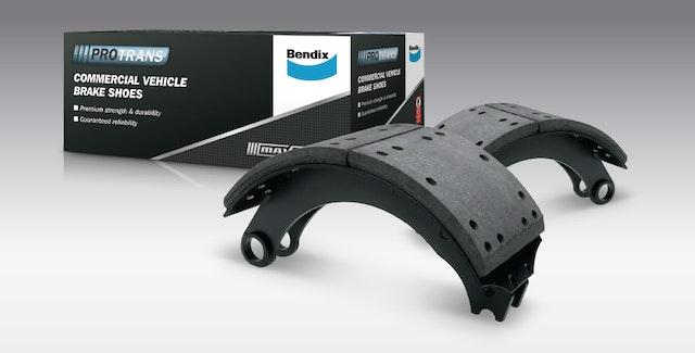 Protrans Brake Shoe Kit B4524: Suits Meritor Q Steer Axle Foundation Brake.