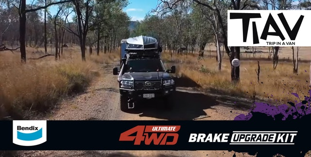 Trip In A Van – 200 SERIES LANDCRUISER BRAKE UPGRADE – Bendix Ultimate 4WD Brake Upgrade Kit!