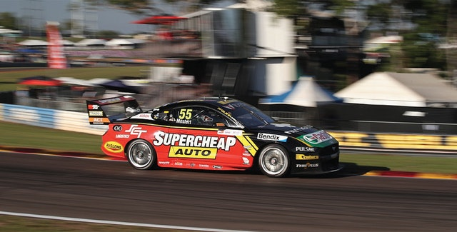 Darwin Triple Crown wrap up for Chaz and the Tickford Mustang