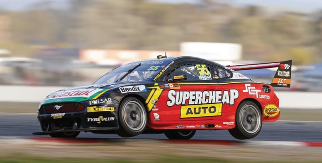 Ups and downs at the Winton SuperSprint for Chaz Mostert in the 55 Tickford Mustang
