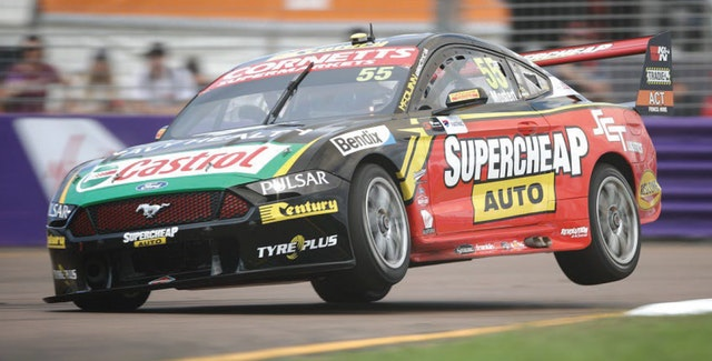 Mostert back on the podium in Townsville