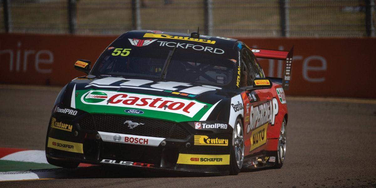 Le Brocq and Tickford Hit the Streets of Townsville