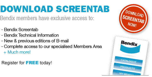 Media Release - Bendix ScreenTab program offers new benefits for members.