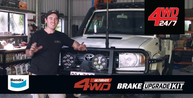4WD 24/7 - NEW MOD Alert | Bendix ULTIMATE 4WD Brake Upgrade Kit!