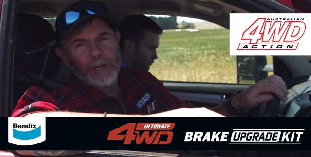 4WD Action: SHOCK Result – How poorly 4WDs stop when fully loaded + How we improved stopping distances by 14M!