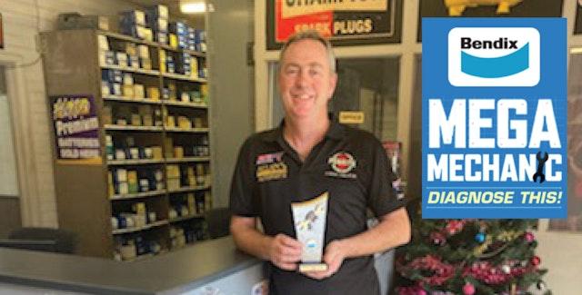 Congratulations to our 2020 Mega Mechanic winner Darren from Autorite Service Centre, in WA!