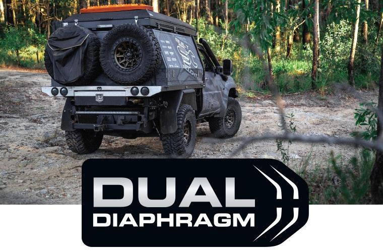 Dual-diaphragm performance