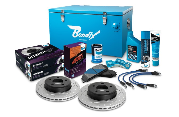 Match with the Ultimate 4WD Brake Upgrade Kit