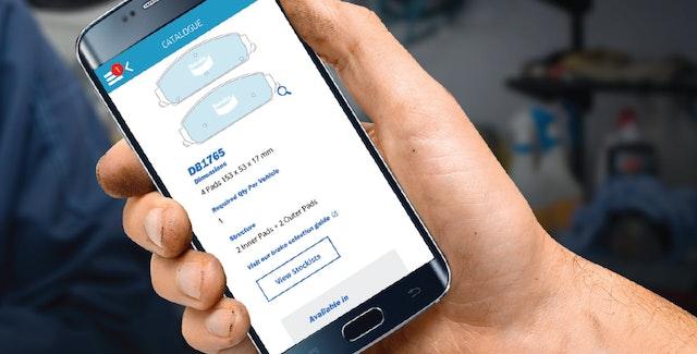 The Bendix Catalogue App: New Scan Feature