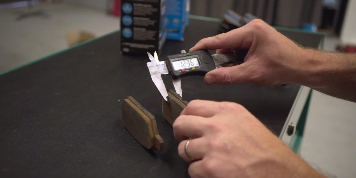 Bendix FAQ: Question: Customer comes back with huge uneven wear on new brake pads. Why?