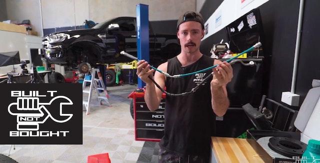 为什么你需要在4WD中需要编织制动线路!