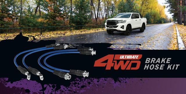 新的Bendix Ultimate 4WD制动器软管套件现已上市!