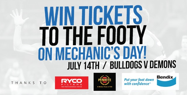 Competition: Mechanics Day at Marvel Stadium, Melbourne!