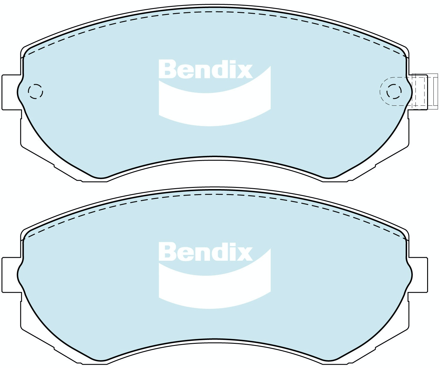 Rear Brake Pad Set