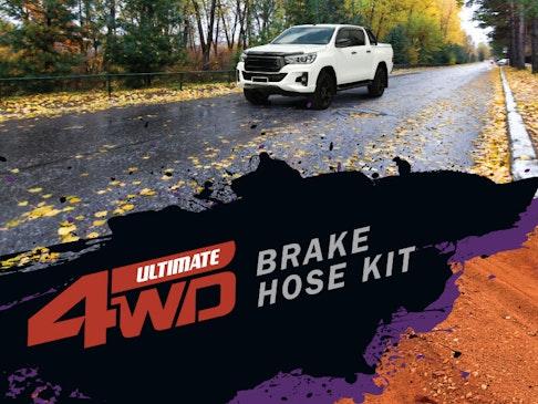 Ultimate 4WD Brake Hose Kit