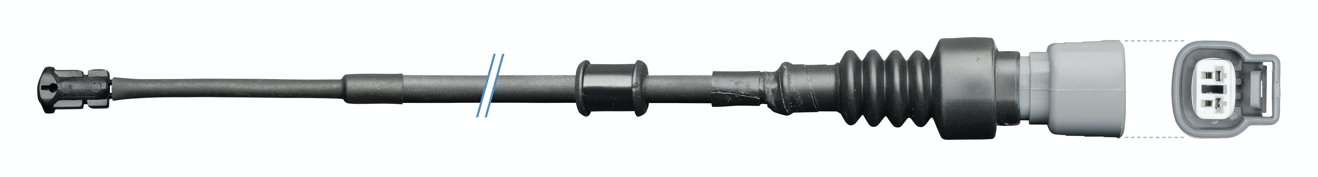 Rear Sensor, brake pad wear