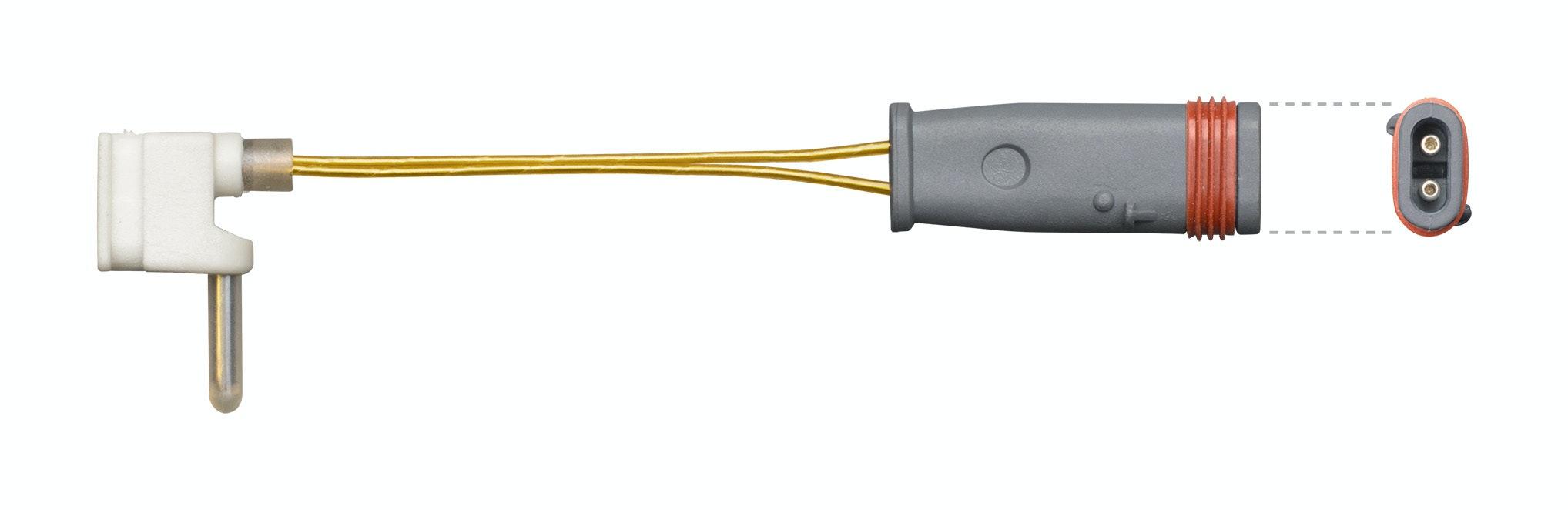 Front Sensor, brake pad wear