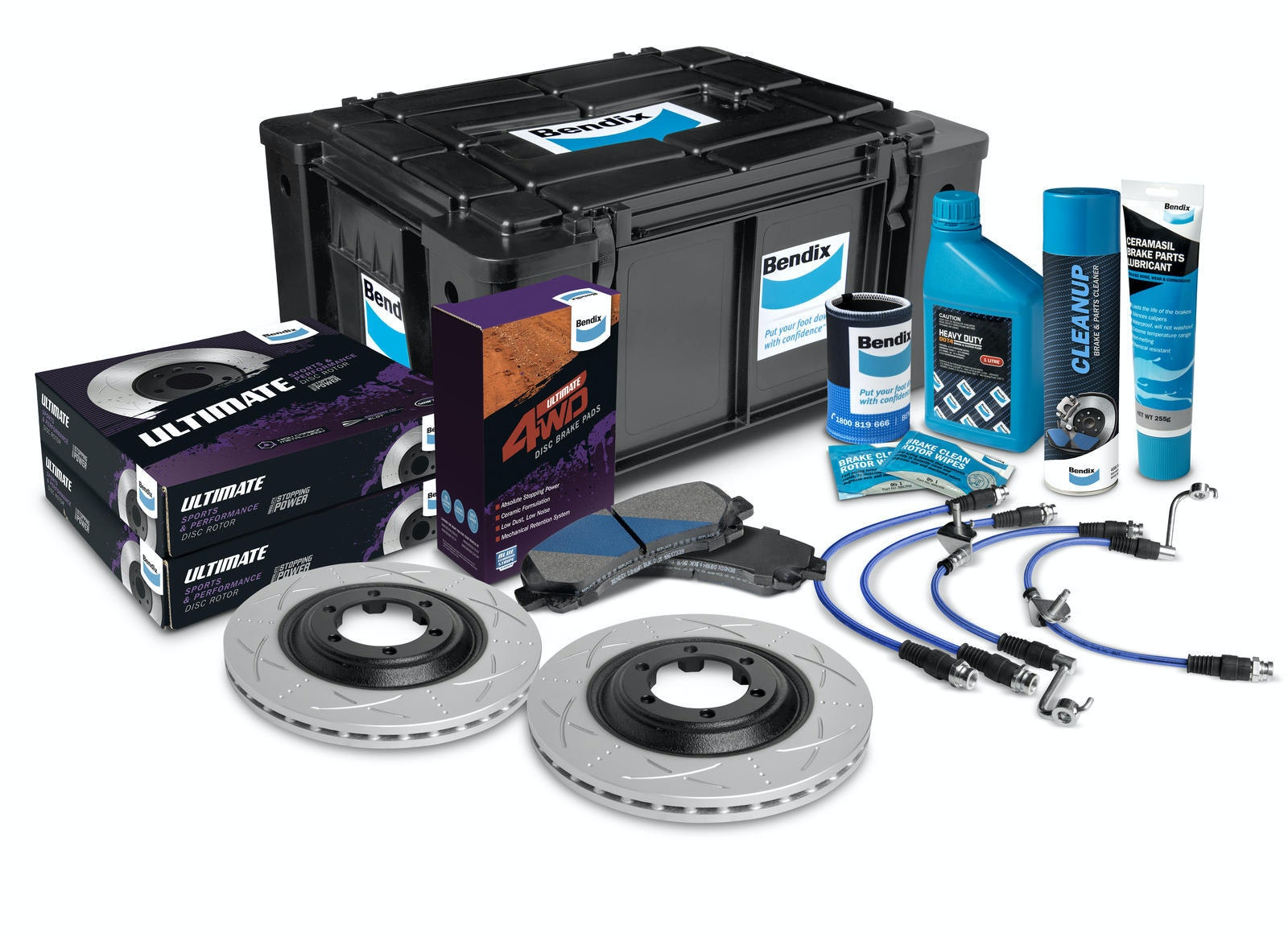 Front High Performance Brake Kit