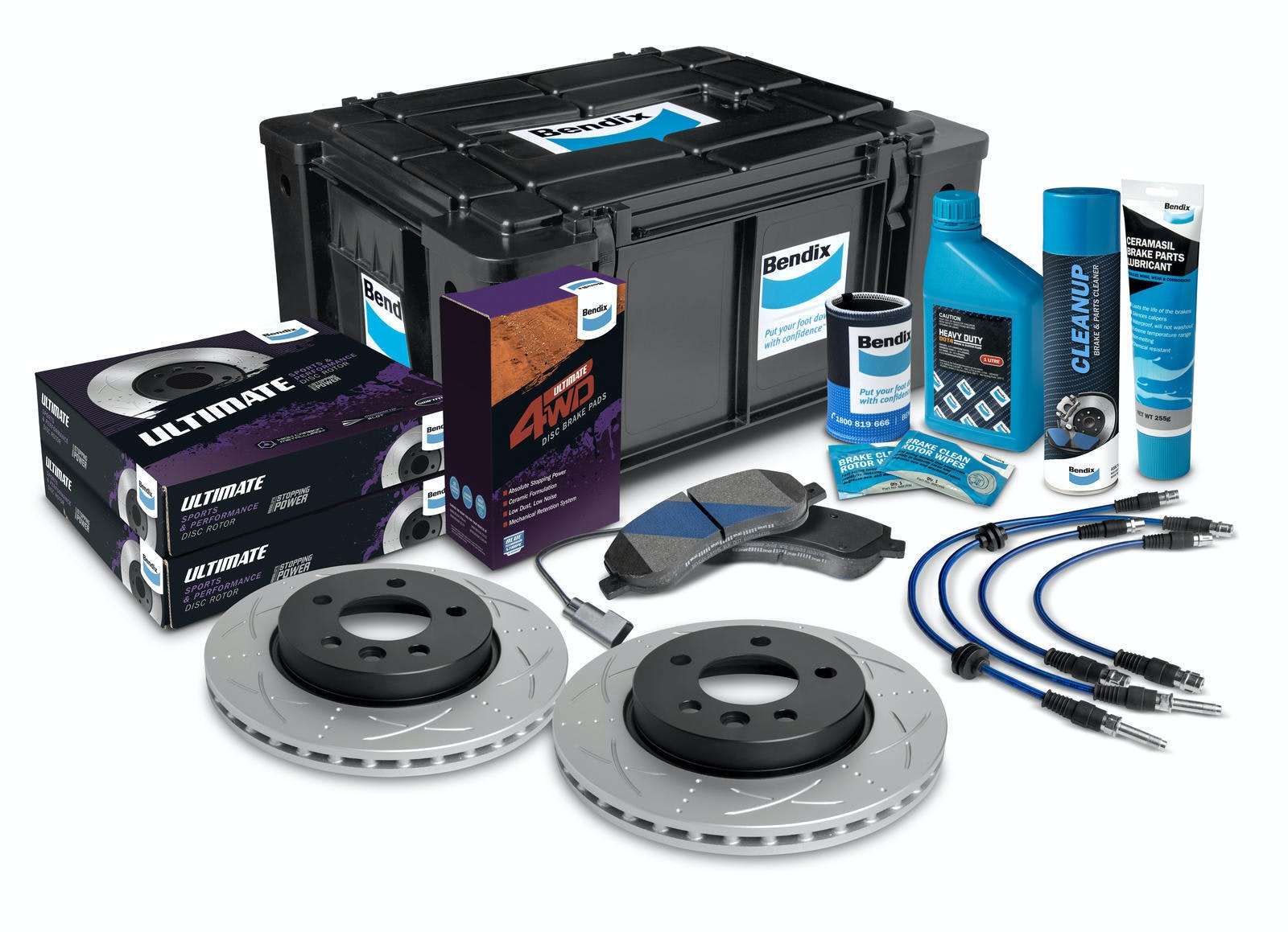 Rear High Performance Brake Kit
