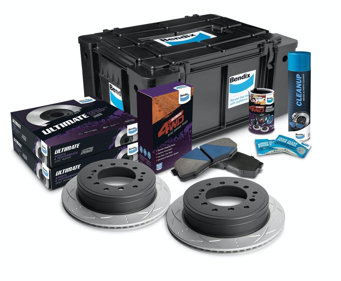 Rear High Performance Brake Kit